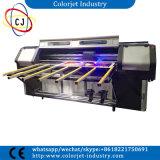 Grande strato poco costoso di formato da rivestire e rotolare per rotolare stampante a base piatta UV multifunzionale capa Dx5