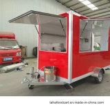 熱い販売の食糧トラックのファースト・フードのトレーラーまたは喫茶店のキオスク
