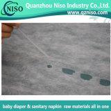 Nonwoven di superficie molle eccellente per lo strato della parte superiore del pannolino del bambino (HP-014)