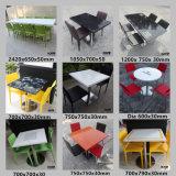 Möbel-langer künstlicher fester Oberflächennahrungsmittelzählimpuls-Gaststätte-Steintisch