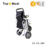 전력 휠체어를 접혀 Topmedi 새로운 휴대용 라이트급 선수