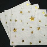 Nuevas servilletas de papel de fiesta Star Star, papel plegable