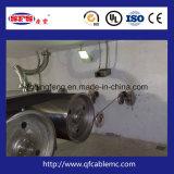 Высокоскоростное машинное оборудование облучением провода и кабеля обрабатывая для кроватки перста, крышки запечатывания, юбки зонтика