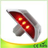 Pi68 빨간 LED 태양 도로 장식 못 섬광