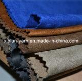 Poliester tela del ante para la ropa / bolsa / Upholsyery / Guantes
