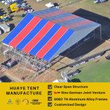 مرحلة كبيرة ألومنيوم خيمة مع مختلفة لون سقف تغطيات ([هف] [50م])