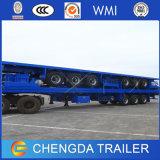 40FT Panel-Checkered Flachbettbehälter-Traktor-LKW-halb Schlussteil