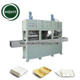 Hghy Papiermassen-Formteil nehmen den Nahrungsmittelkasten weg, der Maschinen-Papier-Verpackungs-Tellersegment-Maschine herstellt
