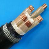 0.6 Cu XLPE do cabo 1kv isolaram o cabo distribuidor de corrente Sheathed PVC blindado Al/XLPE/Awa/PVC do fio de alumínio