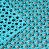 Interverrouillage tapis antidérapant en caoutchouc coloré pour restaurant