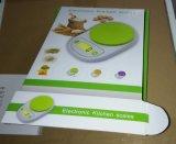 Échelle de cuisine de promotion de Digitals de cuvette (HK122BB-G)