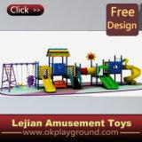 子供の螺線形のスライドの裏庭の運動場デザイン(X1502-3)