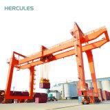 Grue de portique gauche sur rail de conteneur de 30 tonnes