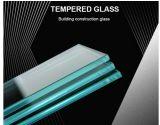 6mm pour la construction en verre trempé de sécurité