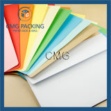 Envelope decorativo de papel colorido do OEM (CMG-ENV-012)