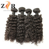 人間の毛髪の自然で緩い波の加工されていないバージンのインド人の毛