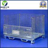 Japan-Vorratsbehälter-Maschendraht-Behälter-Metallrahmen/Ineinander greifen-Sperrklappenkasten-Behälter/Ineinander greifen-Behälter