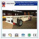 20FT Flatbed Volledige Aanhangwagen van de Trekbalk van Fabrikant