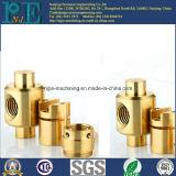 Het Messing CNC die van de precisie Conectores voor Electricos machinaal bewerken