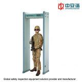 Pantalla LCD 20 detector de metales de nivel de seguridad digital con Frecuencia de trabajo