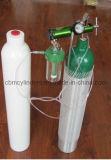 De gemengde die Gasflessen van de Zuurstof van het Acetyleen in ' worden geladen fcl 20