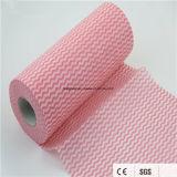 Wipe a gettare di pulizia del rullo non tessuto di Spunlace per la cucina