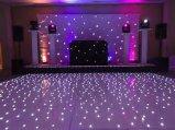 Акрил звездным танцевальном зале белых светодиодов белого цвета панели танцы пол