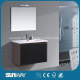 Nuova vanità moderna di vendita calda della stanza da bagno 2016 con il Governo dello specchio