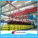 Ligne de moulage de machine de bâti en métal de fonderie de procédé de vide de DM de capacité de qualité de haute précision