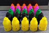 Silikon-Wind-Schutzkappe für Kohlenstoff-Holzkohle-Gebrauch auf Tellersegment mini elektronisches Cigarett E-Zigarette E Zigaretten-Zigarettenrauchen-Rohr-Glaswasser-Rohr-Aschenbecher-Huka Shish