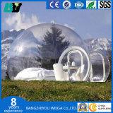 Transparentes aufblasbares Luftblasen-Zelt mit für dem Kampieren