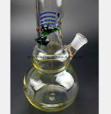 Fieberhitze-Gewehr-Filter-Wiederanlauf-Huka-Gefäß des Glas-17.72-Inch
