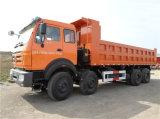 큰 덤프 트럭 Beiben Ng80 8X4 유압 덤프 트럭 수용량