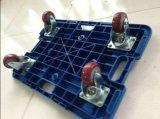 черепаха Hand Trolley 150kgs Splicing с PVC Wheel Red