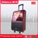 Carrinho de Shinco Professional 14 polegadas com ecrã TFT LCD de alto-falante