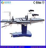 病院装置の手動手術室操作の外科表かベッド