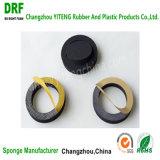 Closed-Cell EPDM espuma con adhesivo, hojas de espuma de caucho EPDM espuma autoadhesiva