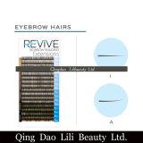 Qualità specifica di super dei capelli del sopracciglio di estensioni del sopracciglio del contrassegno privato
