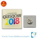 Distintivo stampato poco costoso su ordinazione di Pin di alta qualità del rifornimento dalla Cina