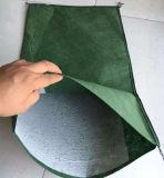 De PP verde Nonwoven Saco vegetativa com sementes utilizadas para proteção da Inclinação
