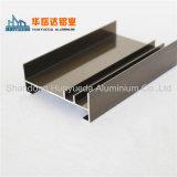 Perfil de aluminio de electroforesis de Casement marco de la puerta de la ventana