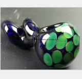 De blauwe Rokende Pijp van het Glas van de Pijp van de Groene Filter van de Honingraat