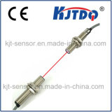 Sensor de Fibra Óptica M12 com sensor de feixe com distância 150m