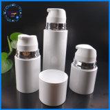 bottiglie senz'aria della plastica dello spruzzo di Pctg del cilindro bianco 100ml