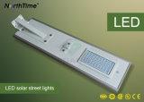 60W luz de calle al aire libre ahorro de energía del panel solar LED