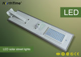 60W 에너지 절약 옥외 태양 전지판 LED 가로등