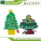 Vara instantânea do USB dos presentes relativos à promoção da árvore de Natal