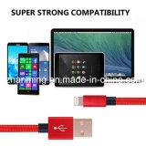 빨간색 iPhone6를 위한 나일론 땋는 USB 케이블