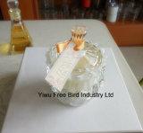 Venta al por mayor decorativa exquisita de cristal de lujo jarra de vela