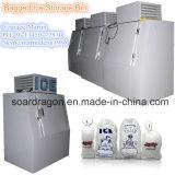 Parede fria / Arrefecimento directo de congelador de gelo com 960kg de capacidade de armazenamento